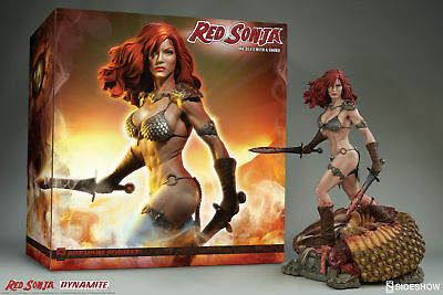 # Statue Red Sonja She-Devil With A Sword - Premium Format Sideshow - In Stock #