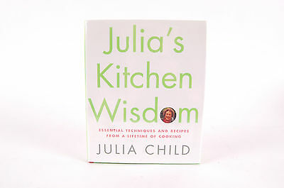 Julia's Kitchen Wisdom Essential Techniques SIGNED First 1st Edition Cook Book