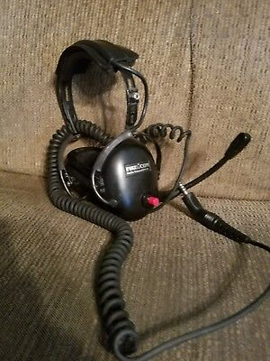 Firecomm Headset Wired Model FH-10 Fire fighter Fire truck Accessories
