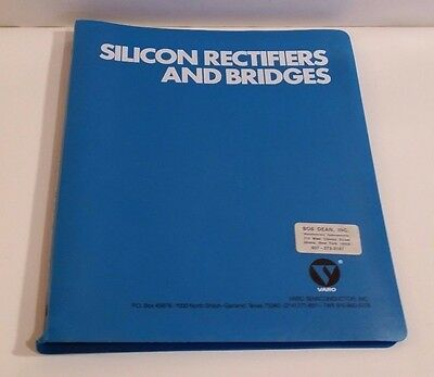 1974 Varo Silicon Rectifiers and Bridges Data Book in Binder