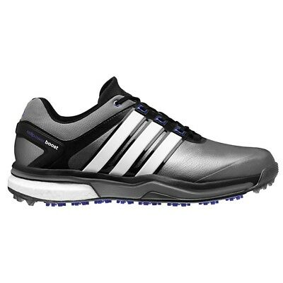 New Men's Adidas Adipower Boost Grey/Flash Golf Shoes Q46922/Q44633 -Pick A Size