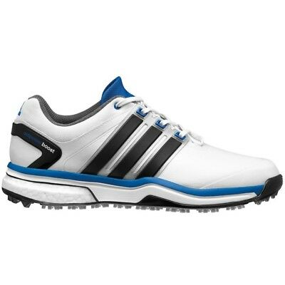 New Mens Adidas Adipower Boost White/Black Golf Shoes Q46923/Q44637 -Pick A Size