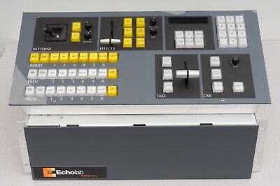 Echolab MVS 3 SD Video Production Switcher with Control Panel