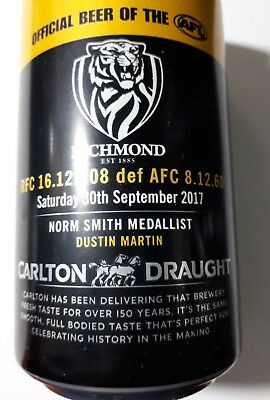 RICHMOND TIGERS Premiership beer can (full)
