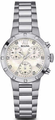 Bulova Women's 96R202 Stainless Steel Bracelet Watch