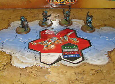 More used card Blade Gruts Wave 1 Malliddon's Prophecy Heroscape grut orcs minis
