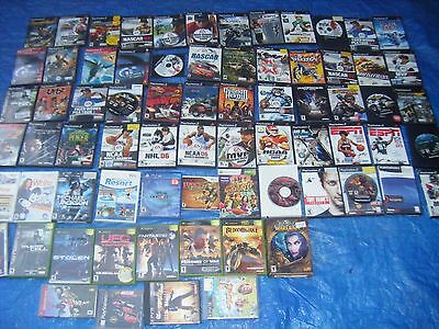HUGE Lot of 72 - XBOX PS3 PS2 Wii Xbox 360 Playstation 1 Playstation 2 PC PS4