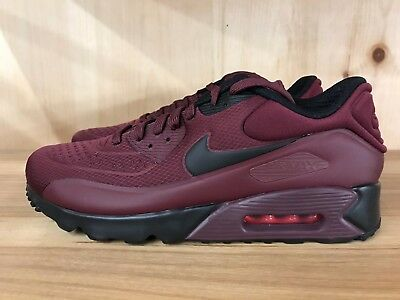 Nike Air Max 90 Ultra Trainers In Red 845039 600
