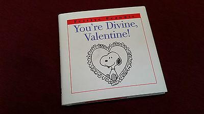 Peanuts Snoopy Valentines Day Gift Book By Schulz 1997