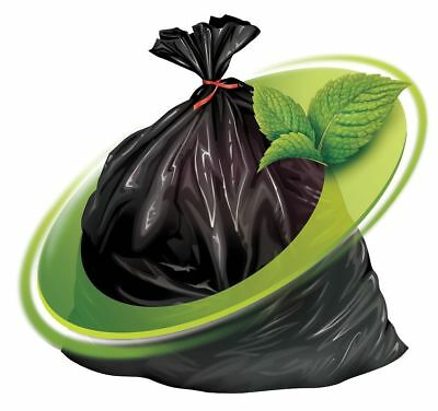 Mint-x Rodent Repellent Recycled Trash Bags   MX4347XHB