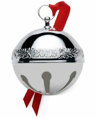 Wallace 2015 Silver-plated Sleigh Bell 45th Anniversary Edition