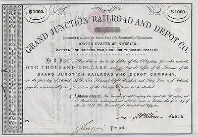 The Grand Junction Railroad and Depot Co. of Massachusetts