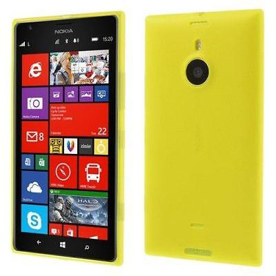 JUJEO Double-Side Matte TPU Cover with Dust-proof Plug for Nokia Lumia 1520...