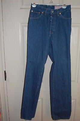 "Vintage Levi's 26501 0119 Women's Button Fly Mom Jeans 27"" High Waist EUC"