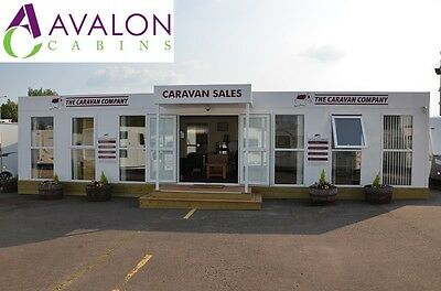 40ft x 24ft Modular building, Portable cabin, Office, Marketing suite,Showroom.