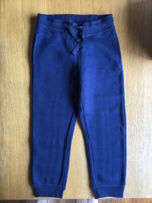 Boys H & M Navy Track Pants New With Tags - Size 5