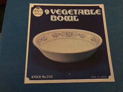 Temptation by Fine China of Japan RJZS Veg bowl new in box