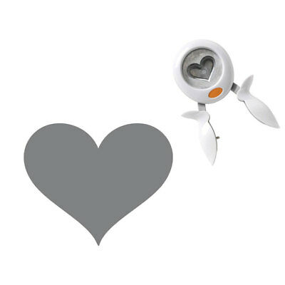 Fiskars Large Easy Squeeze Punch That's Amore Scrapbooking Paper Punch New