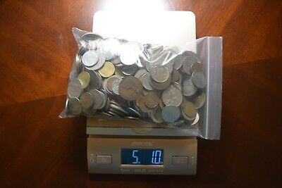Over 5 lbs (2.27 Kilograms) of Mixed World/Foreign Coins Lot No.#6