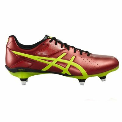 Asics Lethal Speed ST Rugby Boots - Vermillion