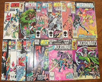 Micronauts Lot MARVEL The New Voyages Special Edition Bronze Age