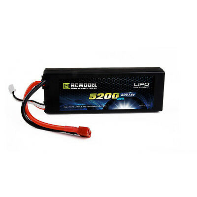 FP Lipo Battery HardCase 7.4V 5200mah 30c 60c  RC boat car