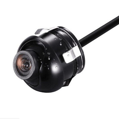 360Degree ROTATABLE Car Waterproof Front+Side View Camera for Car Parking Backup