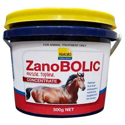 Kelato Zanobolic Concentrate 500g Muscle & Topline Building Supplement In Horses