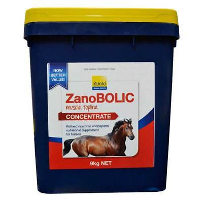 Kelato Zanobolic Concentrate 9Kg Muscle & Topline Building Supplement In Horses