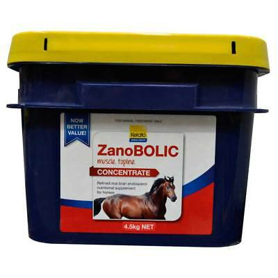 Kelato Zanobolic Concentrate 4.5kg Muscle, Topline Building Supplement In Horses