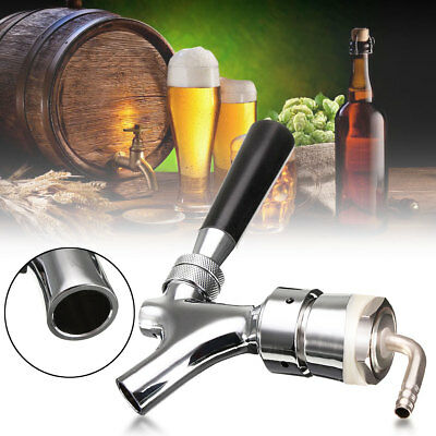 G5/8 Thread Draft Beer Switch Faucet With 92.5mm Shank Combo Kit Kegerator Tap