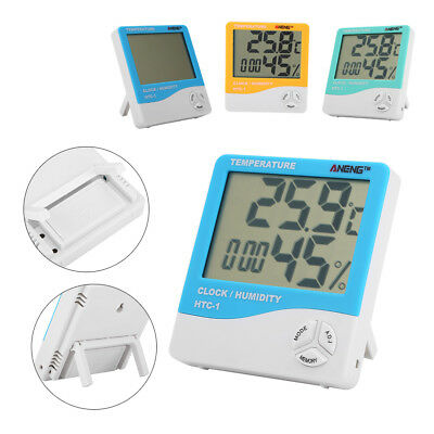 ANENG HTC-1 LCD Digital Thermometer Hygrometer Indoor Temperature Humidity Meter