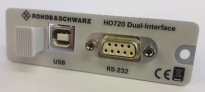 R&S® (Rohde & Schwarz) HO720 Dual Interface (Duale Interfacekarte USB/RS-232)