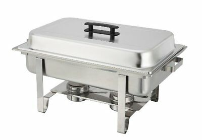8 Qt Stainless Steel Chafer Full Size Holiday Dinner Christmas Thanksgiving NEW
