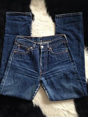 Womens dark perfect wash highwaisted Mom jeans 29inch