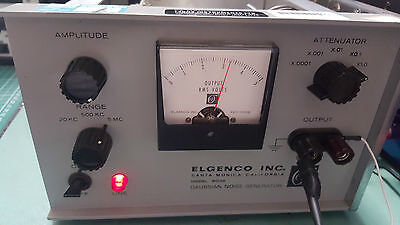 Precision Gaussian Noise Generator 603A , 10Hz To 5Mhz , Elgenco