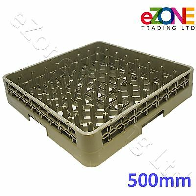 Commercial Kitchen Dishwasher Rack Basket Tray Plate Glass Pegged Spiked 500mm