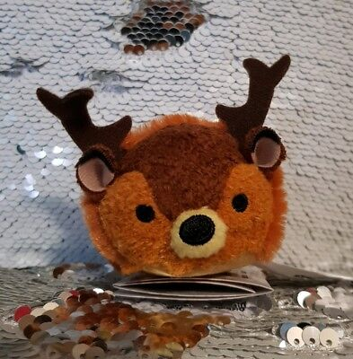 Great Prince Of The Forest Stag Bambi Tsum Tsum Mini Plush Disney Store BNWT