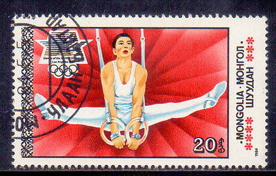 Mongolia STAMP  Gymnastics | - Olympic Games  1984.