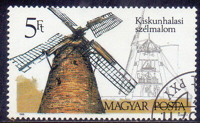 Hungary STAMP  Theme  Architecture - Windmills 1989.