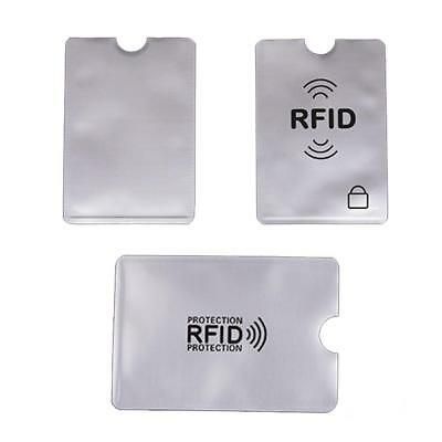 10X Card RFID Blocking Contactless Debit Credit Card Protector Sleeve Wallet