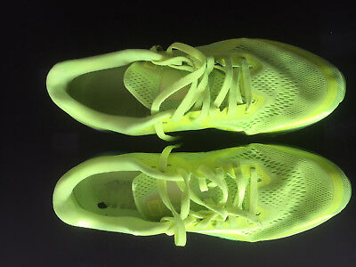 Nike Air Max 2014 & 2011 (lot of 2) Volt Neon/Black and  Black/Sport Red