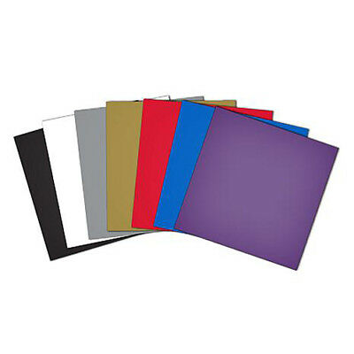 Brother Scan N Cut or Design N Cut Assort Colours 10 Pack Adhesive Vinyl Shee...