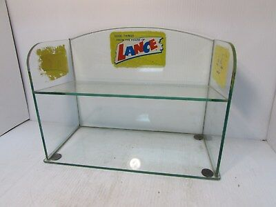"Rare Vintage Lance Glass Store Counter Display 14"" (OF)"
