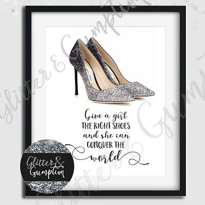 Fashion Art Designer shoes print with marilyn monroe Quote print