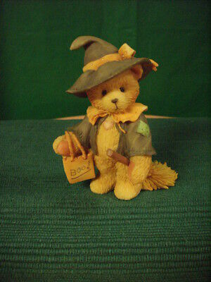 "Halloween-Cherished Teddies Figurine-Gretel-""we Make Magic, Me And You"""