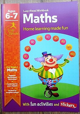 Year 2 Maths Fun Educational Activity Book Home Learning Children Age 6 7 Games