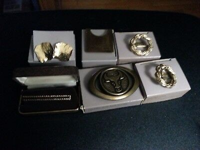 Vintage lot of 6 Avon accessories in the original boxes