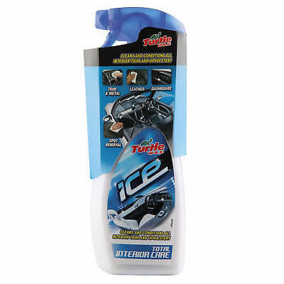 Turtle Wax Ice Total Interior Car Care Cleaner Cleaning 500ml FREE UK POSTAGE