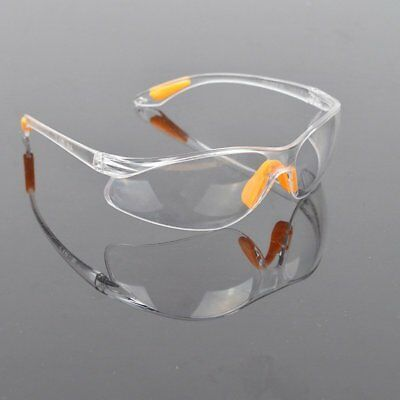 Eye Protection Protective Safety Riding Goggles Eyewear Glasses Work Lab
